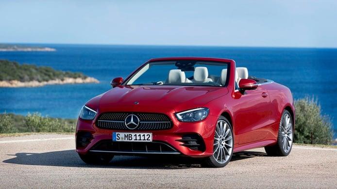 Mercedes Clase E Cabrio 2020, lujo, confort y eficiencia a cielo descubierto