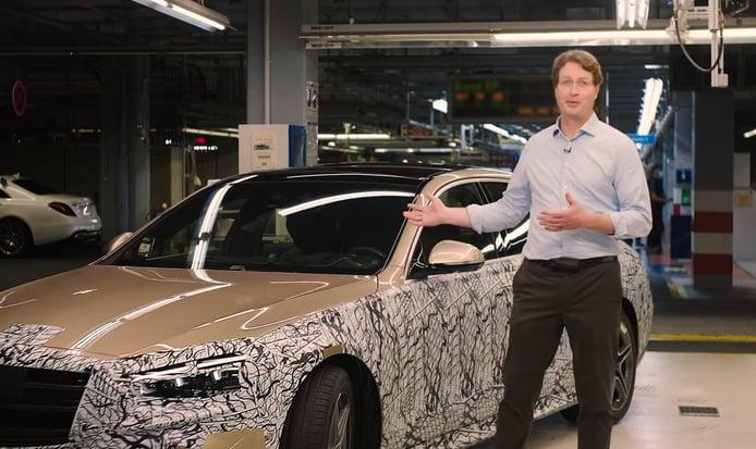 Mercedes anuncia el retorno a la actividad y muestra el nuevo Clase S [vídeo]