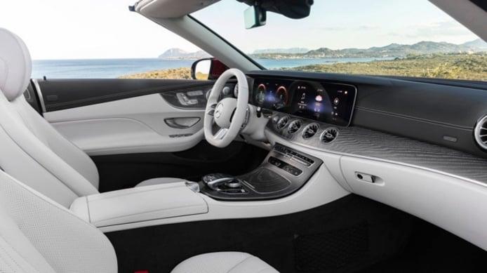 Mercedes Clase E Cabrio 2020 - interior