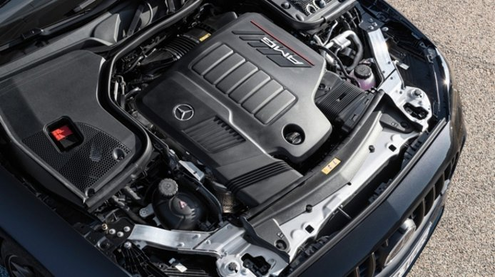 Mercedes-AMG E 53 4MATIC+ Coupé - motor