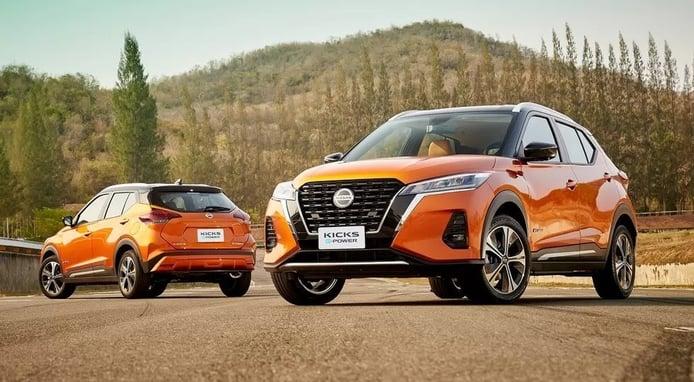 El nuevo Nissan Kicks e-Power aterriza en Tailandia con nueva imagen e híbrido