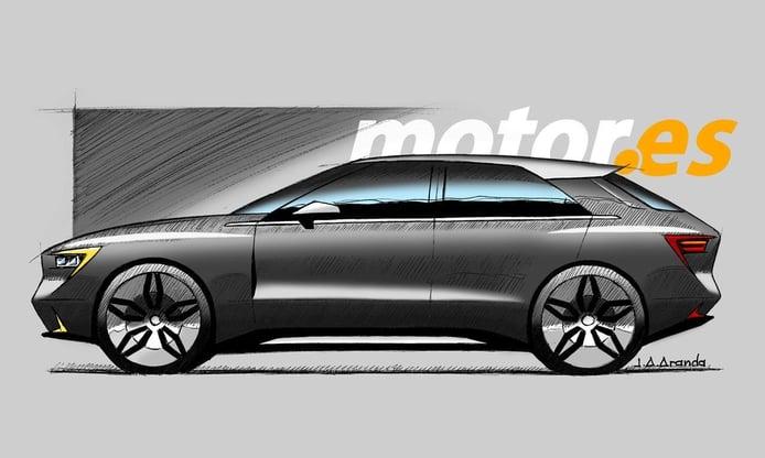 Los Renault Talisman y Espace serán sustituidos por un nuevo crossover eléctrico