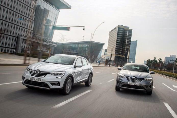 Renault Samsung XM3, el Arkana más tecnológico pisa fuerte en Corea del Sur