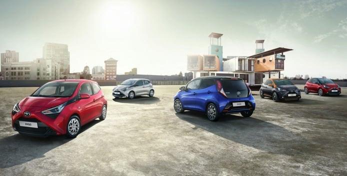 El Toyota Aygo estrena equipamiento y edición especial en Alemania