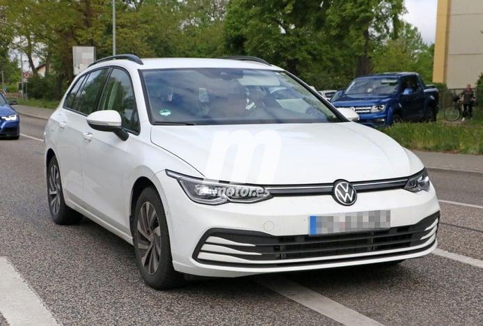 ¡Al descubierto el Volkswagen Golf Variant 2021! Fotos espía del nuevo familiar
