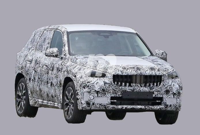 Primeras fotos espía del futuro BMW X1, el SUV compacto llega en 2022