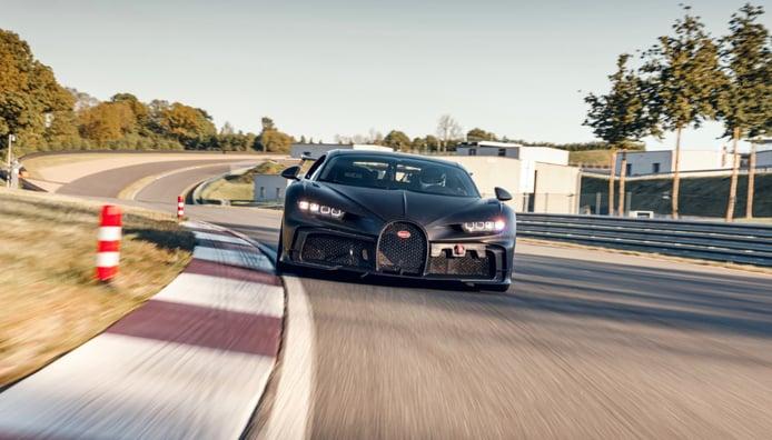 El Bugatti Chiron Pur Sport es un verdadero modelo de circuito