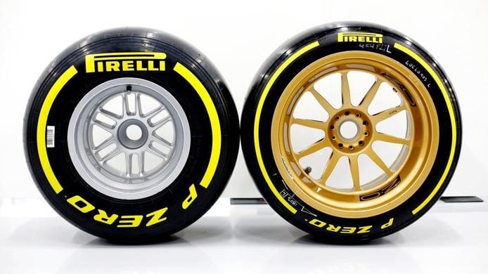¿Cómo afectará el neumático de 18 pulgadas a la F1? Aerodinámica, tiempo por vuelta...