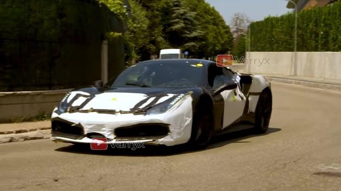 Una mula de Ferrari revela el sonido del nuevo V6 híbrido [vídeo]