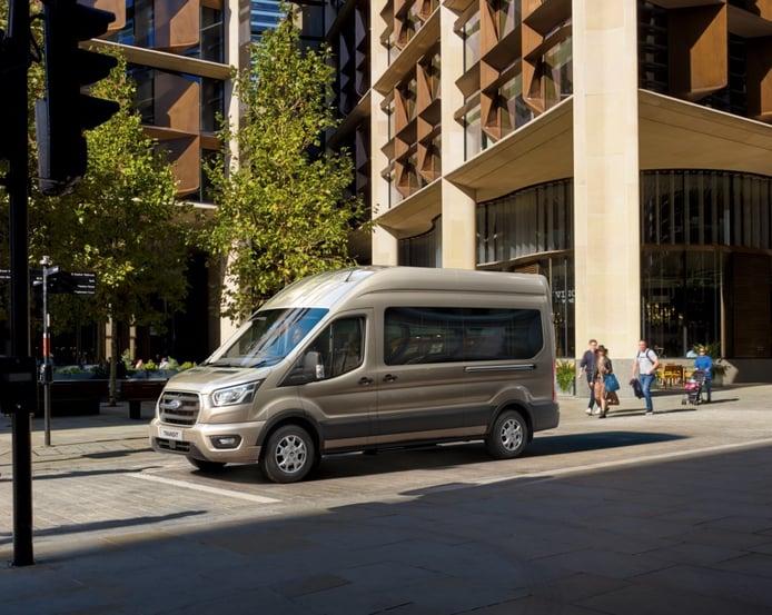 Los Ford Transit estrenan una nueva transmisión automática de 10 velocidades