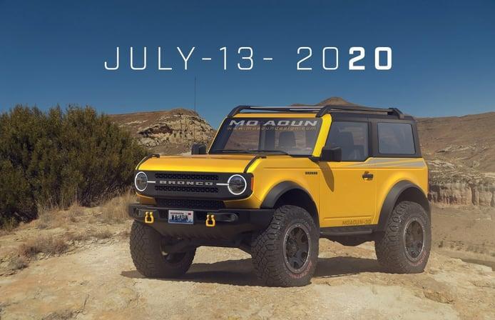 Habrá un Ford Bronco híbrido para competir con el futuro Jeep Wrangler PHEV