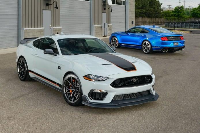 Ford Mustang Mach 1: retorna el mítico muscle car con 487 CV y ADN Shelby