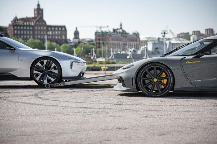 Koenigsegg y Polestar avanzan un teaser de un proyecto conjunto
