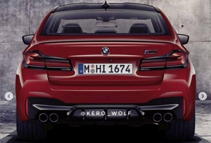 BMW M5 2021 - filtración