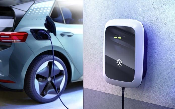 Volkswagen empieza las ventas del cargador eléctrico para los modelos ID.