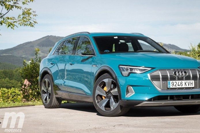 El Audi e-tron se corona como líder de ventas de eléctricos Premium en Europa