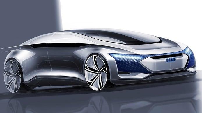 Audi A9 e-tron, la berlina eléctrica que rivalizará con el BMW i7 y el Mercedes EQS