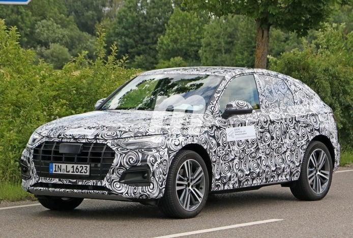El nuevo Audi Q5 Sportback vuelve a posar en nuevas fotos espía
