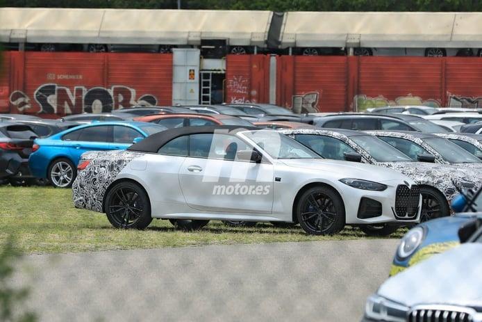 El nuevo BMW Serie 4 Cabrio 2021 alcanza la fase de pre-producción