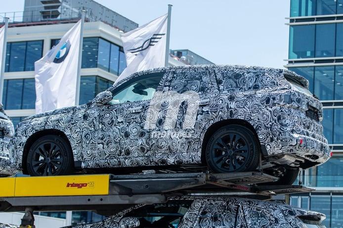 Avistados nuevos prototipos del BMW X1 que debutará en 2022