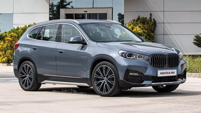 Primeras recreaciones del futuro BMW X1, la tercera generación en camino