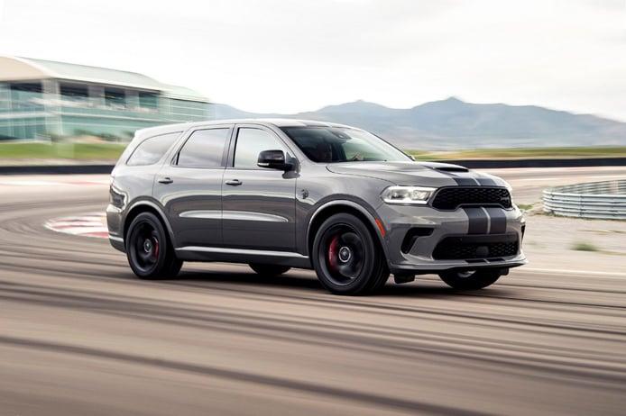 El Dodge Durango SRT Hellcat de 720 CV es el nuevo SUV más potente del mundo