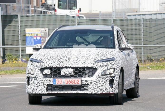 El nuevo Hyundai Kona N, cazado más destapado en los alrededores de Nürburgring
