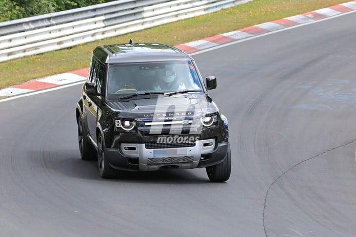 El desarrollo del nuevo Land Rover Defender 110 V8 2021 se traslada a Nürburgring