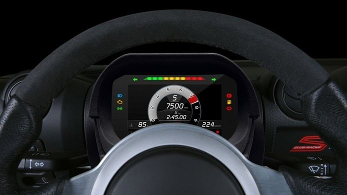 Los Lotus Elise y Exige de 2008, ahora con un cuadro de instrumentos de competición