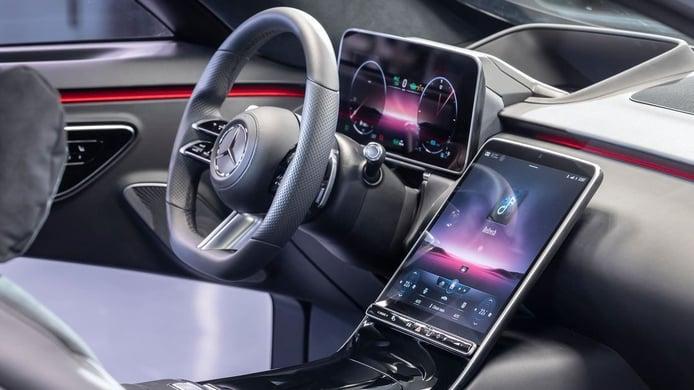 Desvelado el interior del nuevo Mercedes Clase S 2021, la tecnología digital se adueña