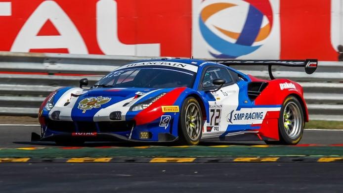 Miguel Molina repite dentro del programa de Ferrari en el GTWC Europe