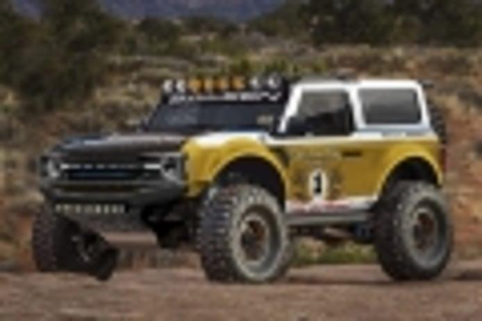 Saleen ya está desarrollando un Ford Bronco mucho más radical