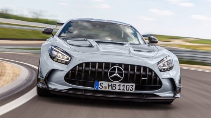 Mercedes-AMG GT Black Series - frontal