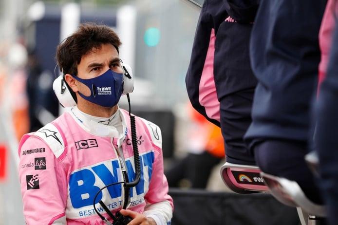 Pérez, primer piloto de la parrilla en dar positivo en COVID-19