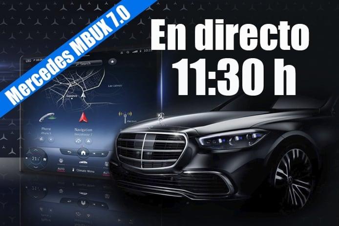 Sigue en directo la presentación del nuevo sistema MBUX 7.0 de Mercedes