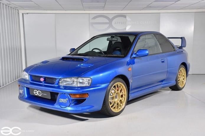 Aparece a la venta un Subaru Impreza 22B STi casi a estrenar