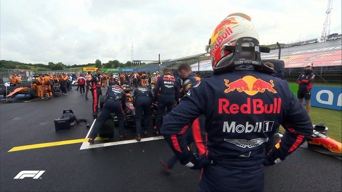 Verstappen: del ridículo al podio gracias a los mecánicos de Red Bull