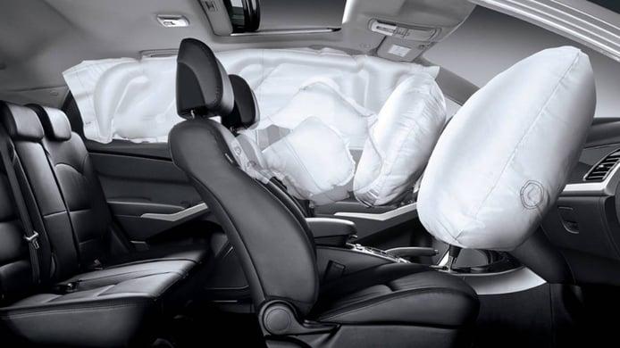 ¿A qué velocidad salta el airbag?