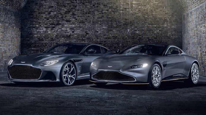 Aston Martin celebra la nueva película de James Bond con la edición limitada 007