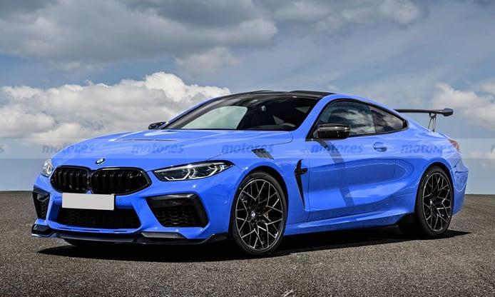El adelanto más fiel del futuro BMW M8 CSL, el GT se volverá más radical en 2022