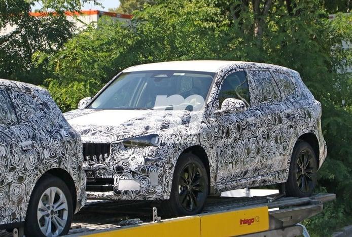Nuevas fotos espía del BMW X1 2022, el SUV compacto cazado en Alemania