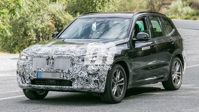 ¡Cazado! El BMW X3 híbrido enchufable también será actualizado en 2021