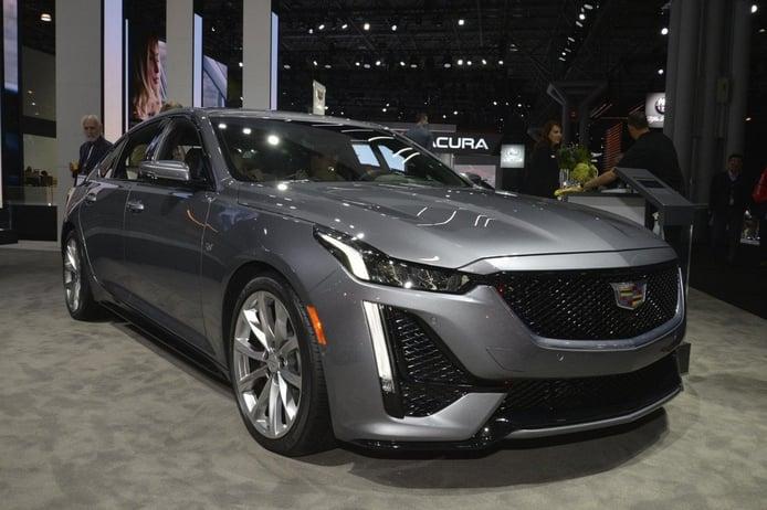 Filtrado el nuevo Cadillac CT5 Diamond Sky Special Edition Package