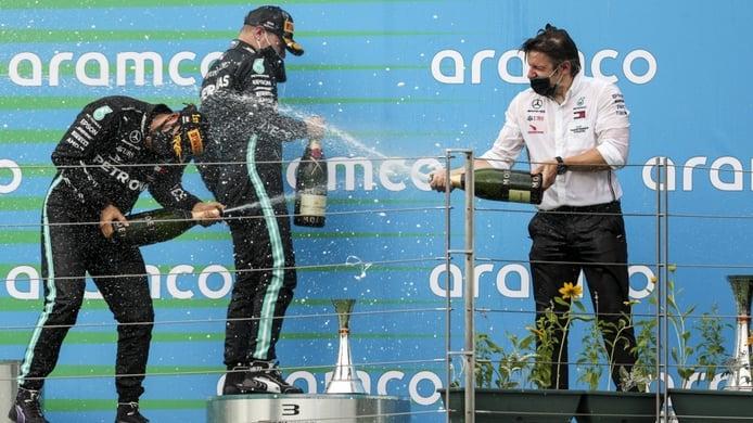 Los datos que explican la frustración de los rivales de Mercedes
