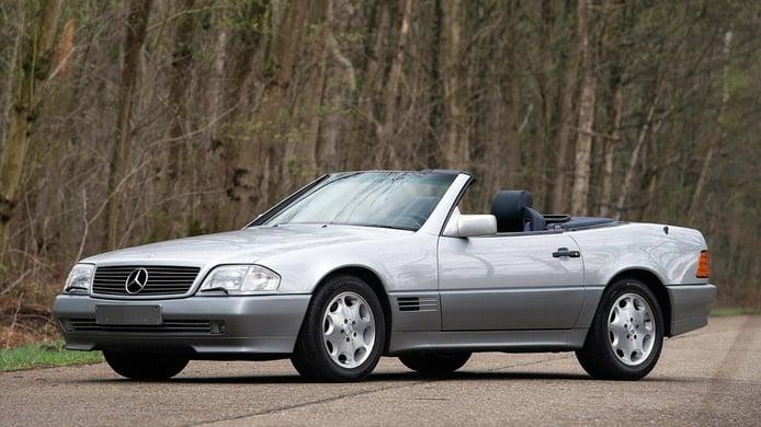 Amores de juventud: el Mercedes 500 SL