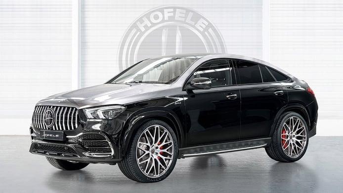 El Mercedes GLE Coupé más elegante y personal lleva el sello de Hofele-Design