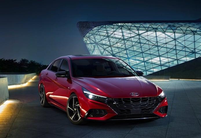 Hyundai desvela por completo el nuevo y deportivo Elantra N-Line 2021