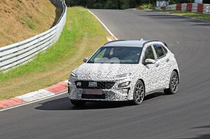 Hyundai exprime el nuevo Kona N en el circuito de Nürburgring