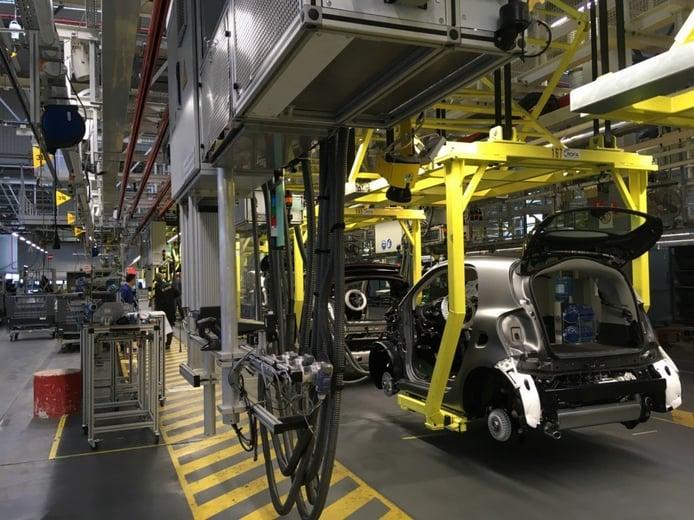 INEOS y Daimler acercan posturas para la venta de la factoría de Hambach