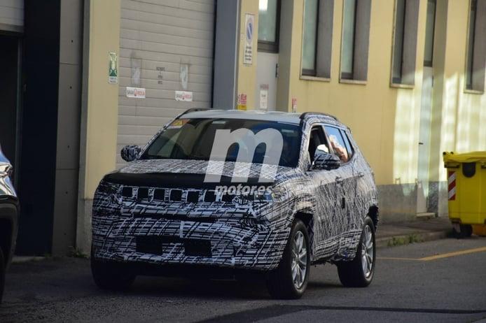 Primeras fotos espía del Jeep Compass 2022, un facelift con importantes cambios